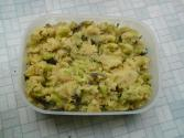 Toovar Lilva Brinjal Upma